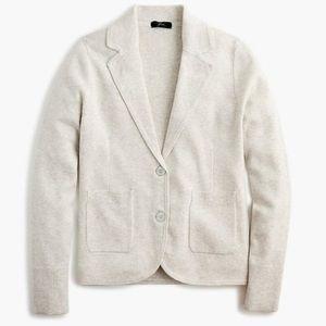 New J Crew Schoolboy Sweater-blazer Size Small